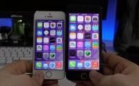 最接近 iPhone 6 實機流出: 螢幕已啟動的模擬機 加大版 iOS 7 動起來 [動圖+影片]