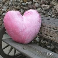 超大愛心型抱枕 (粉紅鑽石絨) 貨號HT05