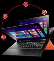 畫質更勝 Retina 版 MacBook.Lenovo Yoga 2 Pro 登場