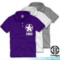 【O.B】STAR1982兒童POLO衫 共三色