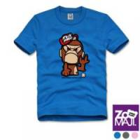【ZooMAJI】搖滾猴先生兒童T恤 共三色
