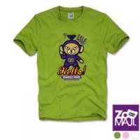 【ZooMAJI】天線熊兒童T恤 共三色