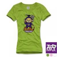 【ZooMAJI】天線熊T恤 共三色
