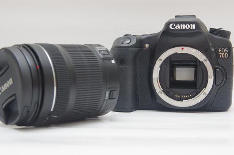 Canon 開創 Live View 對焦里程碑的第一步, Canon EOS 70D 動手玩