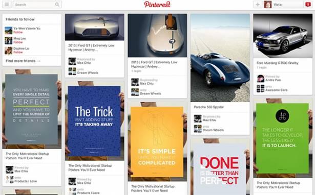 用視覺刺激消費,Pinterest做得到:導購能力遠高於Facebook及Twitter