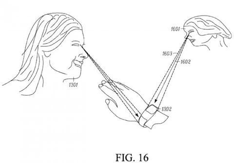 Motorola 申請雙螢幕智慧錶專利,似乎可偵測使用者目光位置