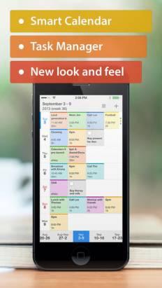 """著名最佳月曆 App 之一: """"Calendars 5"""" 原價 $6.99 美元, 限時免費下載"""