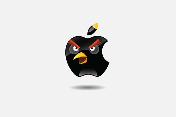 憤怒鳥不是只會打小豬,這次變身各個品牌!