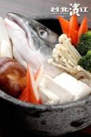 肉質細膩豐富味美~鮮凍鮭魚頭 整顆 420g