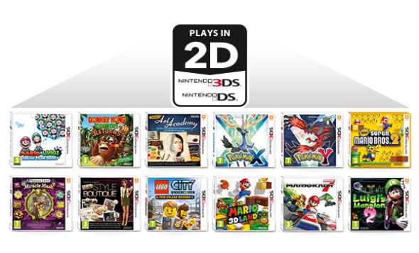 支援 3DS/DS 遊戲.任天堂推 Nintendo 2DS