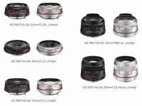 Pentax 將 DA Limited 系列鏡頭換上 HD 鍍膜,並將兩款閃燈改款