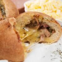 【紙蒸籠-歐式麵包】★德國羅浮起司堡10顆★- _H1021_