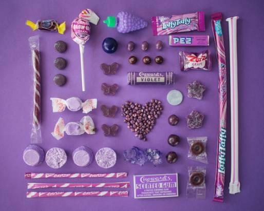 彩色的糖果中的彩色色素,你吃下了多少?