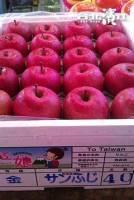 【已售完】日本進口產地直送富士蜜蘋果 10kg 盒,32顆