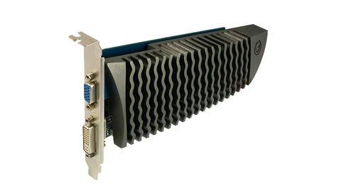 取材自魚類?影馳推出梯形 PCB 板設計的 GT610 冰鱗版顯卡