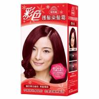 美吾髮 美吾髮彩色護髮染髮霜-櫻桃紅色