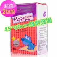 ★新規格88片大包裝,最划算★哈比狗狗訓練尿布墊. 45cm*60cm 88片 x 2包