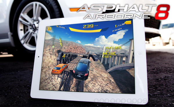 Asphalt 8 Airborne: 最著名賽車新作超爽快玩上天