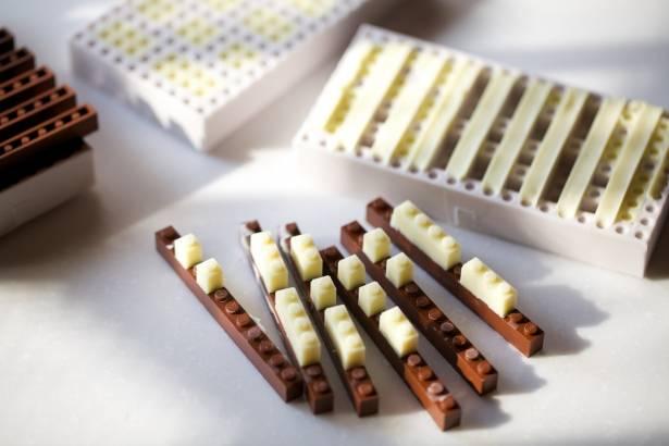樂高也可以吃,定製款巧克力樂高