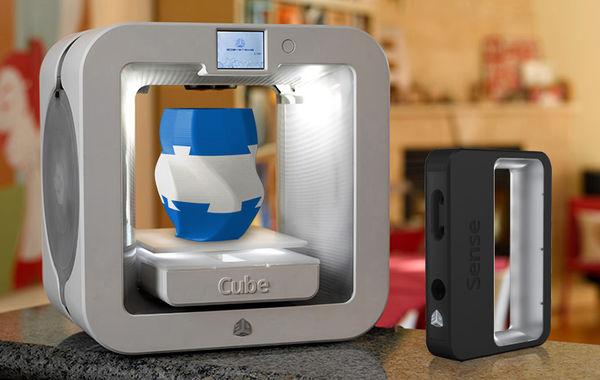 超便宜!Cube 3D列印機只要599元美金