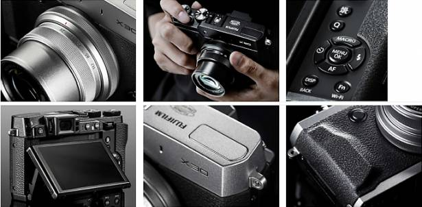 棄光學改電子觀景窗, Fujifilm X30 正式發表