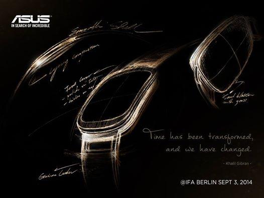 華碩以產品設計手稿暗示將於 IFA 發表的智慧錶設計