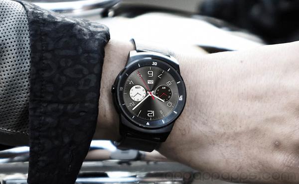 LG 新一隻智能手錶終於像手錶 [圖庫]
