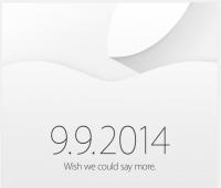 蘋果邀請函正式發出, 9 月 9 日新品發表