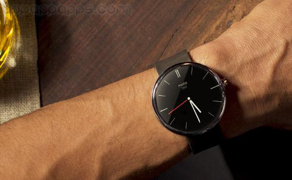 史上最型智能手錶: Moto 360 今天正式開售 [影片]