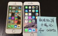 已啟動 iPhone 6 實機終曝光: 運行 iOS 8 主頁 Apps 排列有改動 [圖庫]