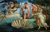 現代雜誌與古代名畫的無縫連接創作!
