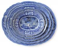 盤子疊疊樂!鏤空瓷盤創造立體風景