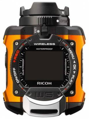 Ricoh 發表水下 10m 等級的硬派防水相機 WG-M1