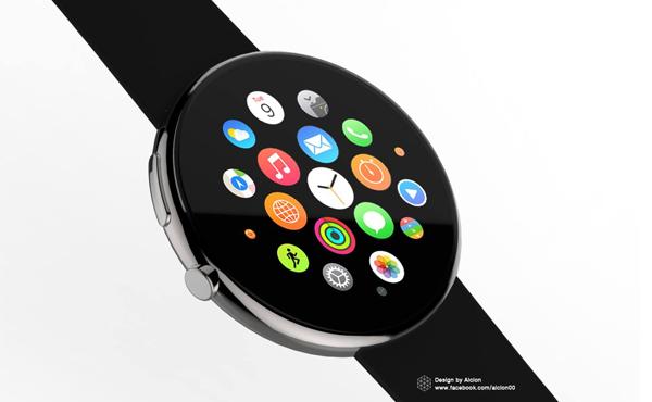 如果 Apple Watch 是圓形, 你還能夠抵抗嗎? [圖庫]