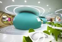 未來感十足的美食廣場 就在韓國!