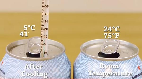 如何讓常溫飲料短時間快速冷卻?(家庭版)