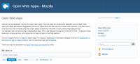 啟用 Open Web App 意見回饋管道