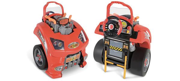 培養孩子對於車輛工程認識的好教具-修理工具組