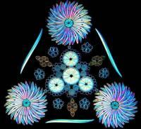 顯微鏡下的絕美畫面,以單細胞矽藻排列的視覺藝術!