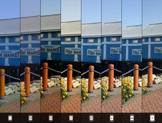 iPhone 手機拍照歷史演進,看樣子以後帶手機出國就好了