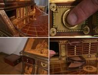 兩百年依舊是一條好漢,超酷機關寫字桌!