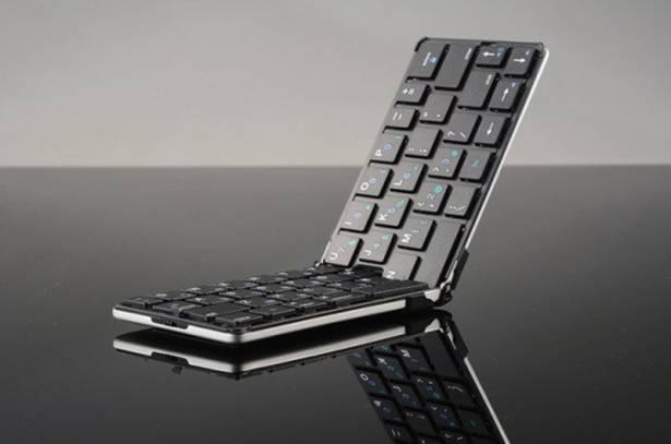 帶著出門也可以!Flyshark 摺疊式無線藍牙鍵盤