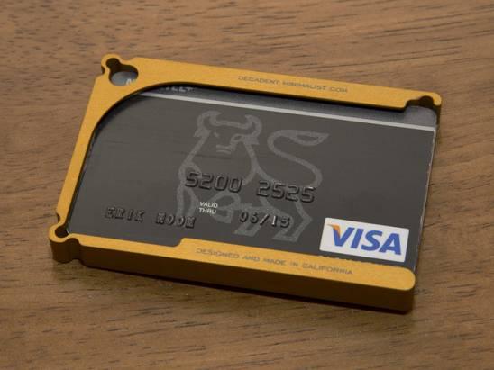 嫌你的皮夾太大了嗎?,來參考另類的鋁製錢包吧