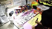 連鎖商店唐吉珂德中強大的手繪 POP 看版製作短片