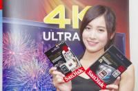 Sandisk 在台推出針對 4K 高流量錄影之超高速大容量 512GB SDXC 卡與 64GB microSDXC 卡