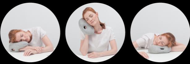除了鴕鳥枕之外,還有鴕鳥小枕,讓你隨時隨地做個好夢