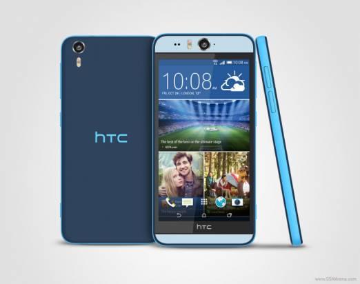 HTC 發表具前後雙 13MP 相機與 IPX7 防水的 Desire Eye ,並宣布部分機種將獲得 Eye 體驗升級