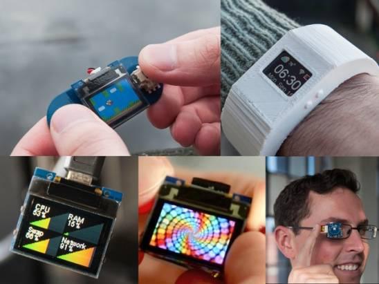 用途很多但眼睛瞎更快的 TinyScreen 迷你螢幕集資計劃