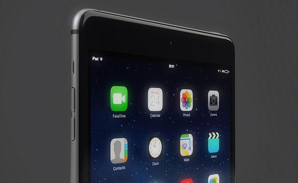 如果 iPad Air 2 也用上 iPhone 6 的設計? (千萬不要發生!) [圖庫]
