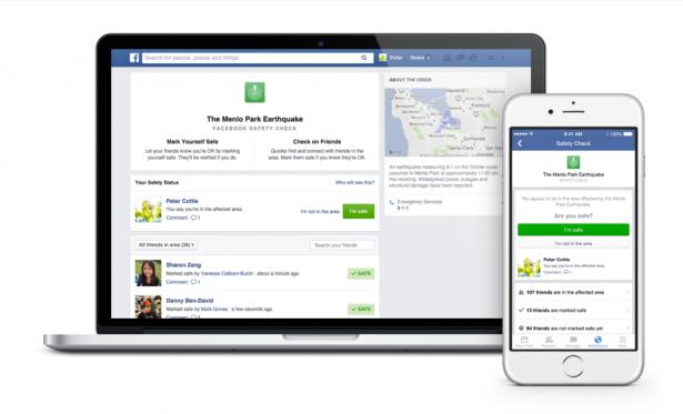 Facebook 最新功能: 向朋友親人「報平安」[影片]